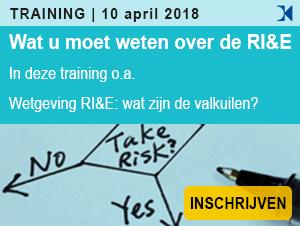 Wat u moet weten over de RI&E, training op 10 april 2018, SKO 1 punt
